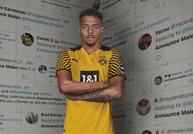 Dortmund confirm Malen signing from PSV following Sancho departure and amid Haaland speculation - Bóng Đá